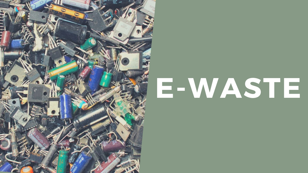 what is e-waste what happens to electronic waste