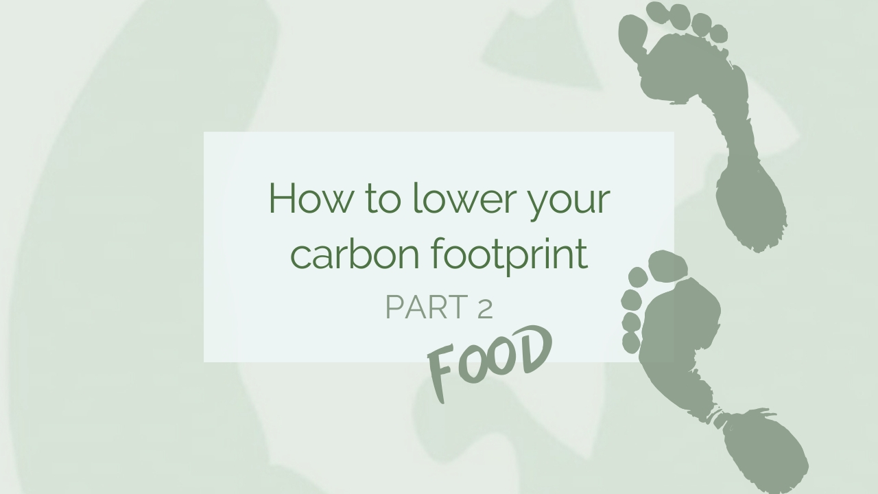 how to reduce your cabron footprint