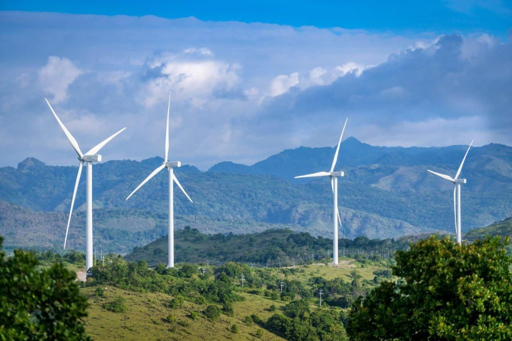 Sidrap Wind Energy Park in Indonesia